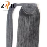 Diritto Ponytail naturale dei capelli umani di 100%