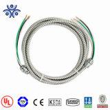 UL1569 Mc кабель с Xhhw-2 Inners полихлорвиниловая оболочка 600V медного провода из алюминиевого сплава с блокировкой броня кабеля