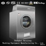 Máquina de secagem da lavanderia industrial do secador da queda do aquecimento de vapor 100kg