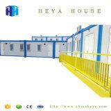 Zwischenlage-Panel-vorfabriziertstahlkonstruktion-Behälter-Haus Thailand