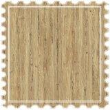 Suelos laminados que cubre la superficie de madera de pino junta para el hogar decoración piso