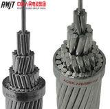 Алюминиевой проводник кабеля ACSR проводника усиленный сталью чуть-чуть алюминиевый