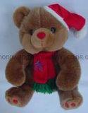 Jouet en peluche de Noël pour enfants personnalisé
