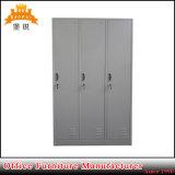 Salle de Gym 3 Portes armoire métallique Armoire de stockage de bureau Locker