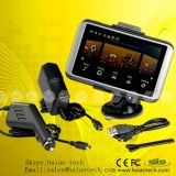 5.0 pulgadas de navegación GPS de camiones con Bluetooth AV-en la función