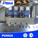 Máquina de perfuração de néon do CNC do furo da tela da caixa leve