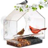 Clear Acrylic Hanging Bird Feeder
