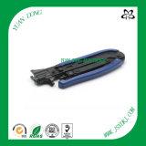 CATV separador del cable de compresión de la abrazadera para cable RG6 y RG11