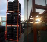Palettes empilables de pneu de mémoire d'entrepôt de bonne vente