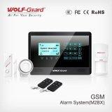 Sistema Home do alarme anti-roubo da G/M do sensor Android do Ios APP 433MHz com os sensores do rádio do APP
