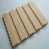 Panneau composé en plastique en bois chaud de mur rideau de panneau de mur de la vente WPC