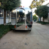 Jy-B84 상해 간이 식품 트레일러 스테인리스 음식 손수레 중국 음식 트럭