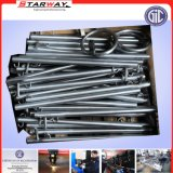 Fabricación del tubo y de los tubos del metal del acero inoxidable para el automóvil