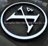 Signe acrylique extérieur imperméable à l'eau de la lettre 3D