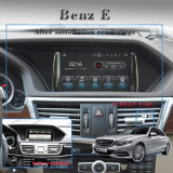 "Android do rádio de carro da tela polegada do sistema Android antiofuscante 7 de Carplay da "" para o áudio do carro do Benz E"