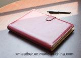 Caderno de couro do diário do plutônio da alta qualidade para o negócio