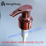 24/410 насосов лосьона Rose изготовления Китая золотистых для запечатывания бутылки