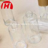 Frasco de loção de vidro cosméticos com bomba