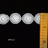 얇은 작은 Lace Factory Latest Design에 의하여 레이스 손질 Hm 수를 놓는 레이스 손질