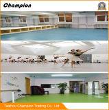 Plancher de PVC pour la pièce de danse, plancher commercial de PVC pour l'hôpital, hôtel, usine
