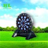 膨脹可能なゴルフ投げ矢のゲームおよび魔法テープサッカーの投げ矢ボード