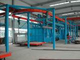 Máquina superficial de la limpieza: Rodillo a través del tipo precio de la máquina del chorreo con granalla