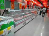 Supermarkt-Feinkostgeschäftfleisch gekühlte Serve-Überschüsse