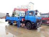 販売のためのクレーン8tクレーントラックが付いている180HP 5トン6tonの貨物自動車のトラック