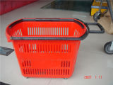 Panier de vente au détail, le supermarché d'équipement, panier, Plastique Panier (JT-G24)