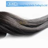Extensão peruana preta do cabelo do cabelo humano