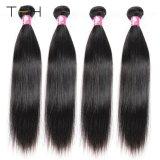 9A Malasian прямые волосы вьются Черный Virgin Реми волос 100% волос человека связки волос Малайзии (ЦГВЗ)