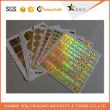 Anti-Vervalst van de Druk van het Zelfklevende Etiket van het document de anti-Valse Sticker van het Hologram