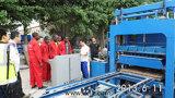 Brique pleine automatique de ciment hydraulique de Zcjk Qty4-25 faisant la machine