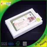 Claro personalizada de fábrica PP/PET caixa de embalagem de plástico cor de Acessórios para telefone COM CABIDE