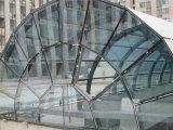 Telhado de vidro global das clarabóias da construção de aço do porto