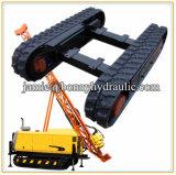 10 Ton rasto de borracha para máquinas de construção do material rodante de esteiras