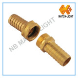 Brass Female Male Raccord fileté pour flexible de jardin