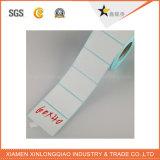 Personalizado del código de barras de papel auto-adhesivo de la etiqueta engomada impresión de transferencia térmica