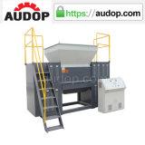 De tweeling Ontvezelmachine van het Recycling van de Schacht Plastic
