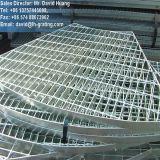 Galvanisé à chaud des champs de pétrole caillebotis en acier de structure en acier-de-chaussée