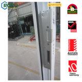 Singolo portello francese del PVC UPVC della stoffa per tendine di vetratura doppia di apertura