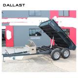 덤프 트럭을%s 다단식 망원경 단 하나 임시 유압 기름 실린더
