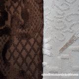 Сплетенная полиэфиром 100% ткань софы велюра жаккарда
