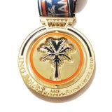 Medalla del recuerdo con la decoración de la dimensión de una variable del coco