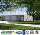 Garage prefabricado constructivo de la certificación de la ISO de la casa de la estructura de acero