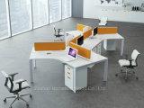 Het in het groot Bureau van het Werkstation van het Bureau Lineaire met de Verdeler van het Scherm (HF-YZM007)