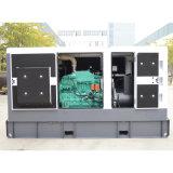 50Гц шести цилиндров Silent тип генератора дизельного двигателя с 100 ква Основная мощность