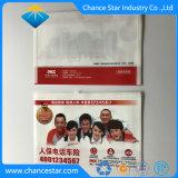 Custom A5 пластиковый конверт Zip папку с Pocket