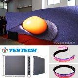 Publicidad de la pantalla de visualización flexible de la cortina de Digitaces LED