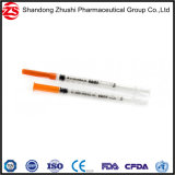 "La insulina estéril jeringa con aguja 27gx1/2""/21g 1'."